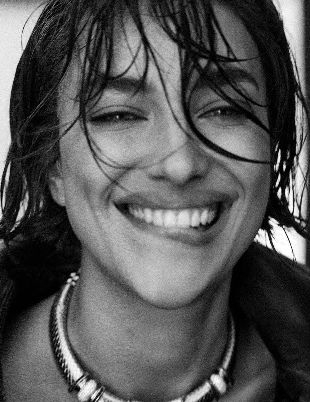 Irina Shayk covers Vogue Spain September 2018 by Giampaolo Sgura