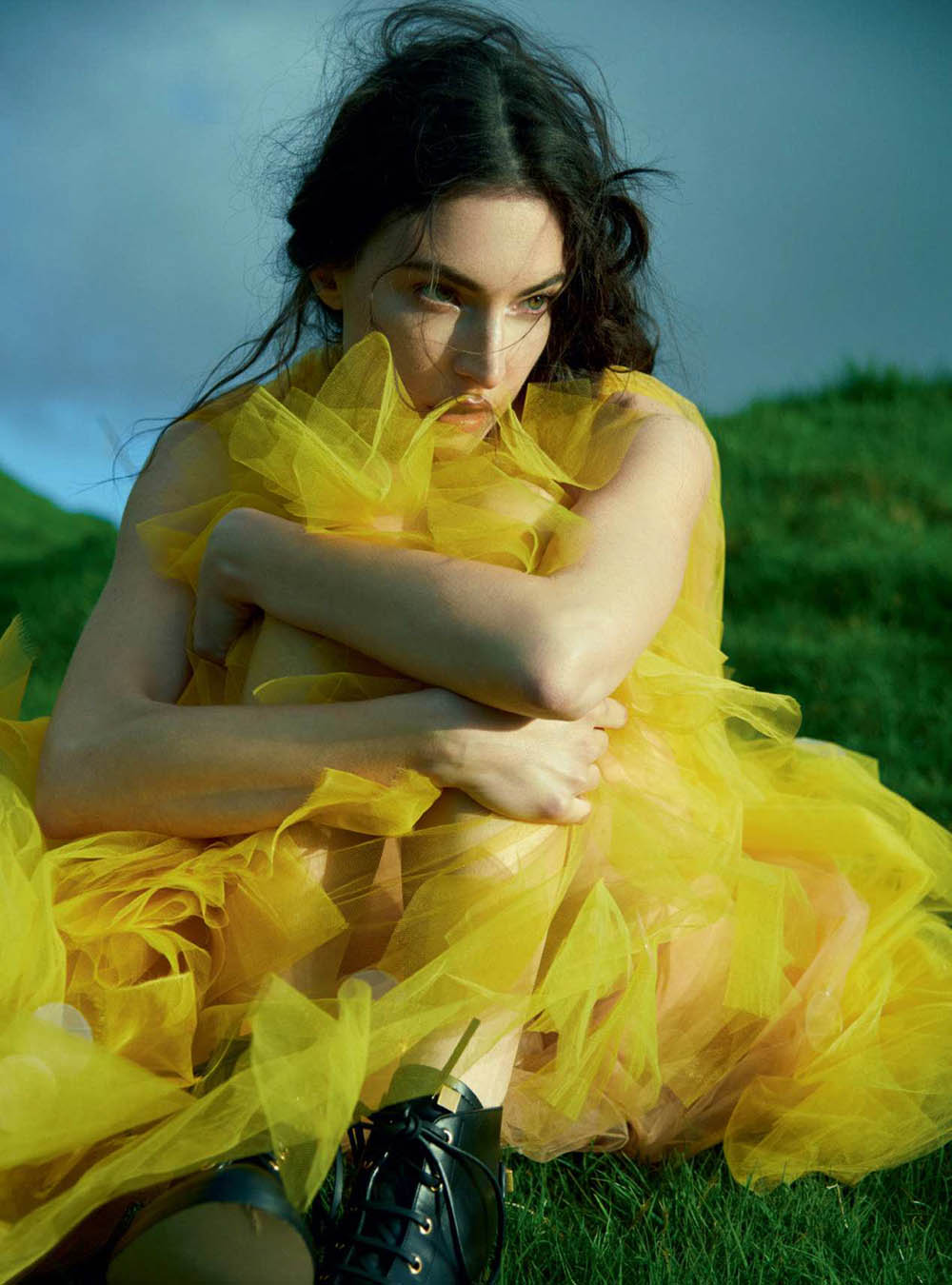 Jacquelyn Jablonski by Erik Madigan Heck for Harper's Bazaar UK September 2018