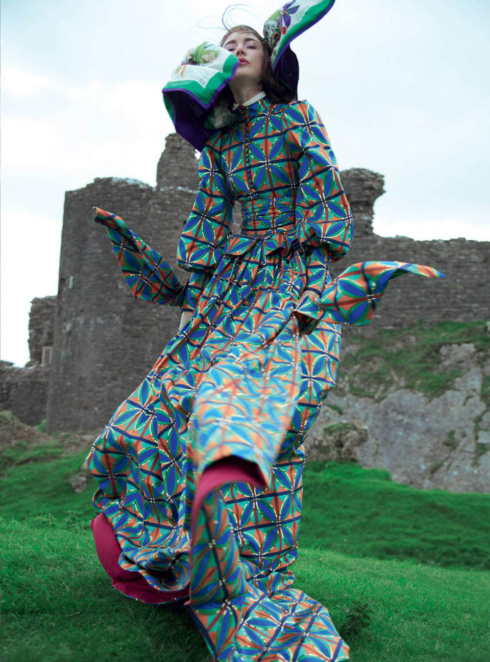 Jacquelyn Jablonski by Erik Madigan Heck for Harper's Bazaar UK September 2018