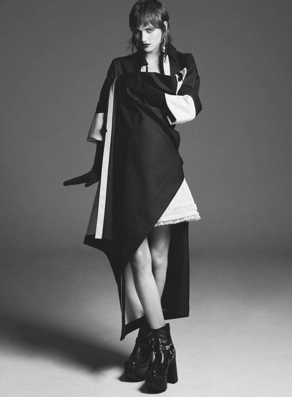 Jess Cole and Sarah Brown by Karim Sadli for British Vogue October 2018