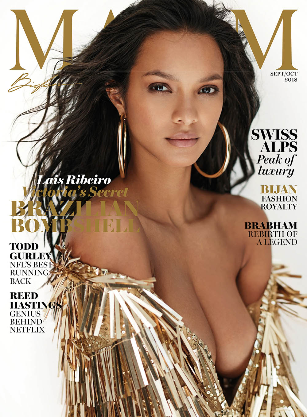 Lais Ribeiro covers Maxim US September October 2018 by Gilles Bensimon