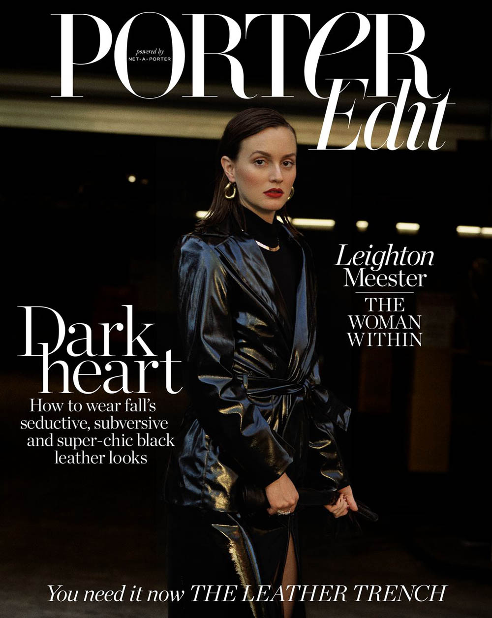 Leighton Meester covers Porter Edit September 21st, 2018 by Matthew Sprout