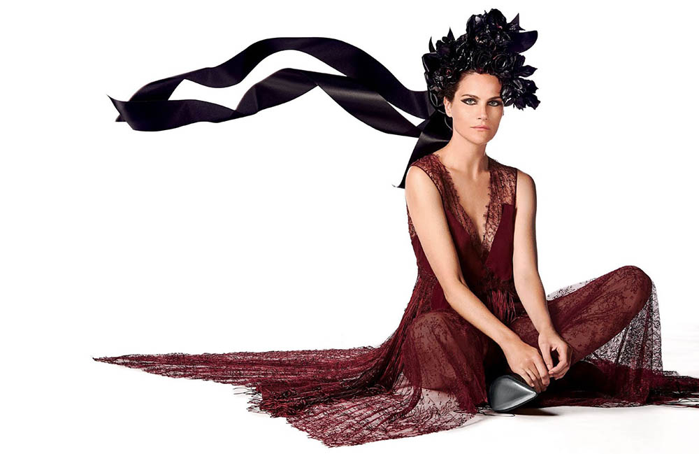 Missy Rayder by Walter Chin for Vogue Arabia September 2018