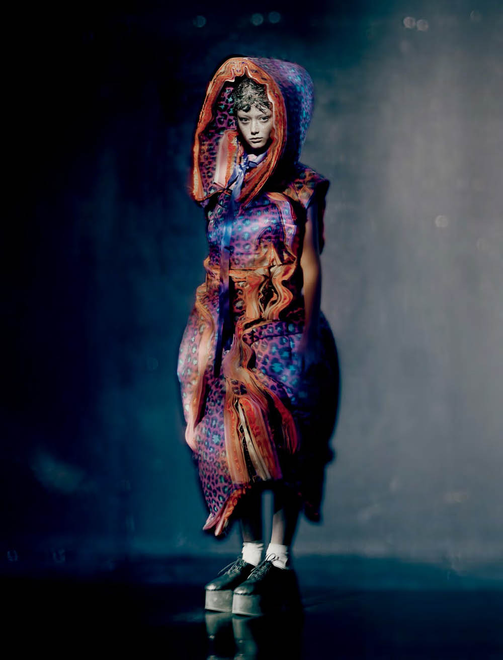 Sara Grace Wallerstedt by Paolo Roversi for Dazed Magazine Fall 2018