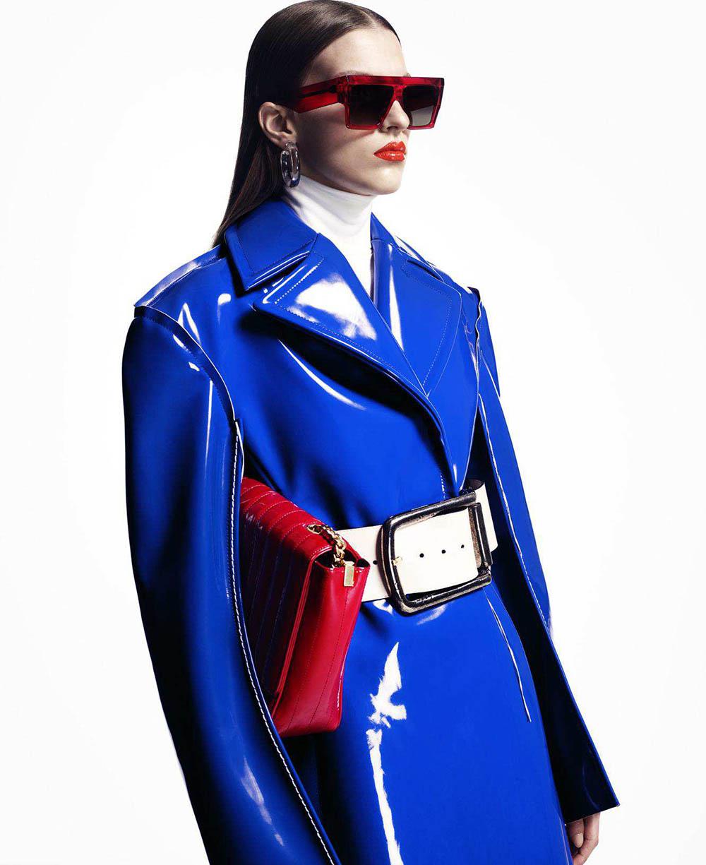 Silke van Daal by Yulia Gorbachenko for Harper's Bazaar US September 2018