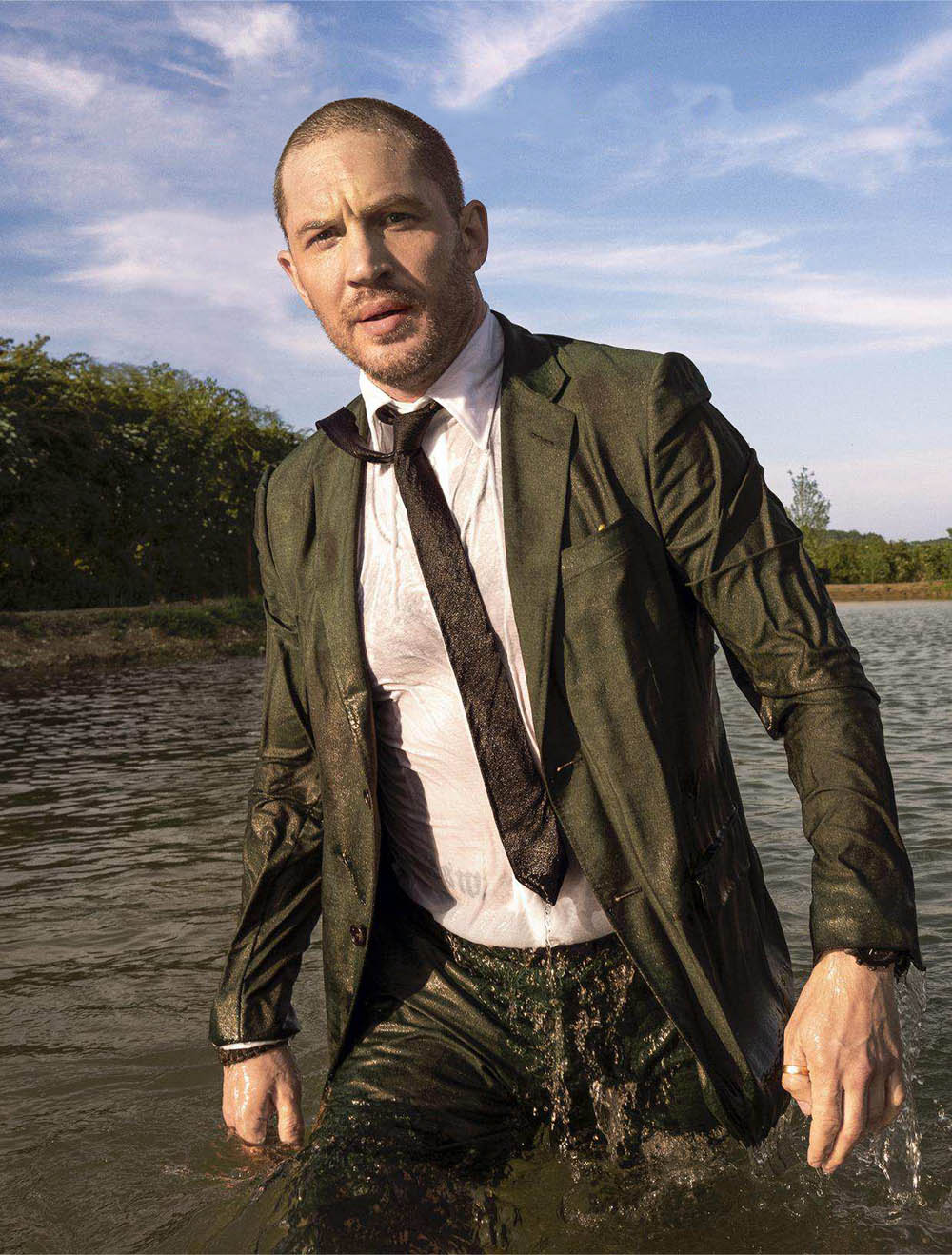 Tom Hardy covers Esquire US September 2018 by Greg Williams