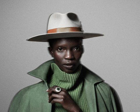 Achok Majak by Tom Schirmacher for Elle US October 2018