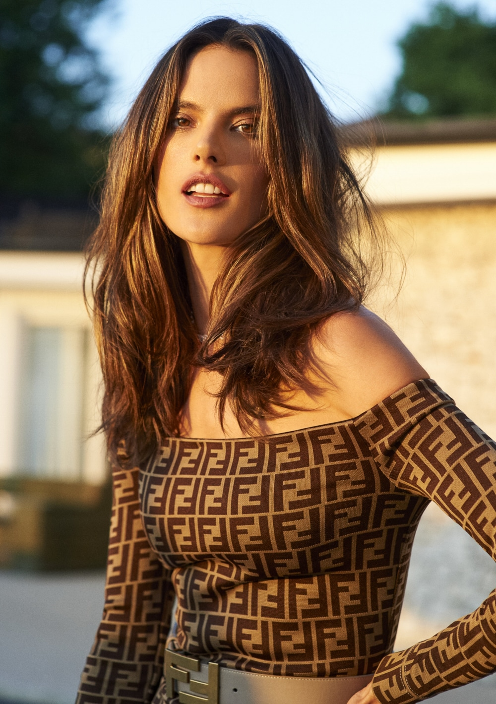 Alessandra Ambrosio covers InStyle Russia October 2018 by Stewart Shining