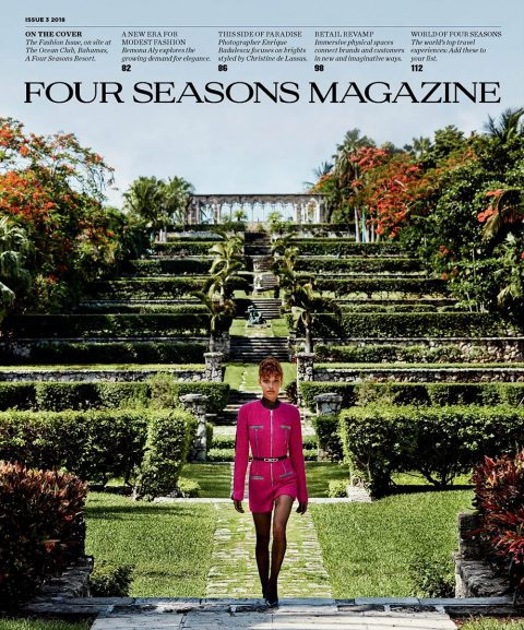 Alicia Herbeth covers Four Seasons Magazine Issue 3 2018 by Enrique Badulescu