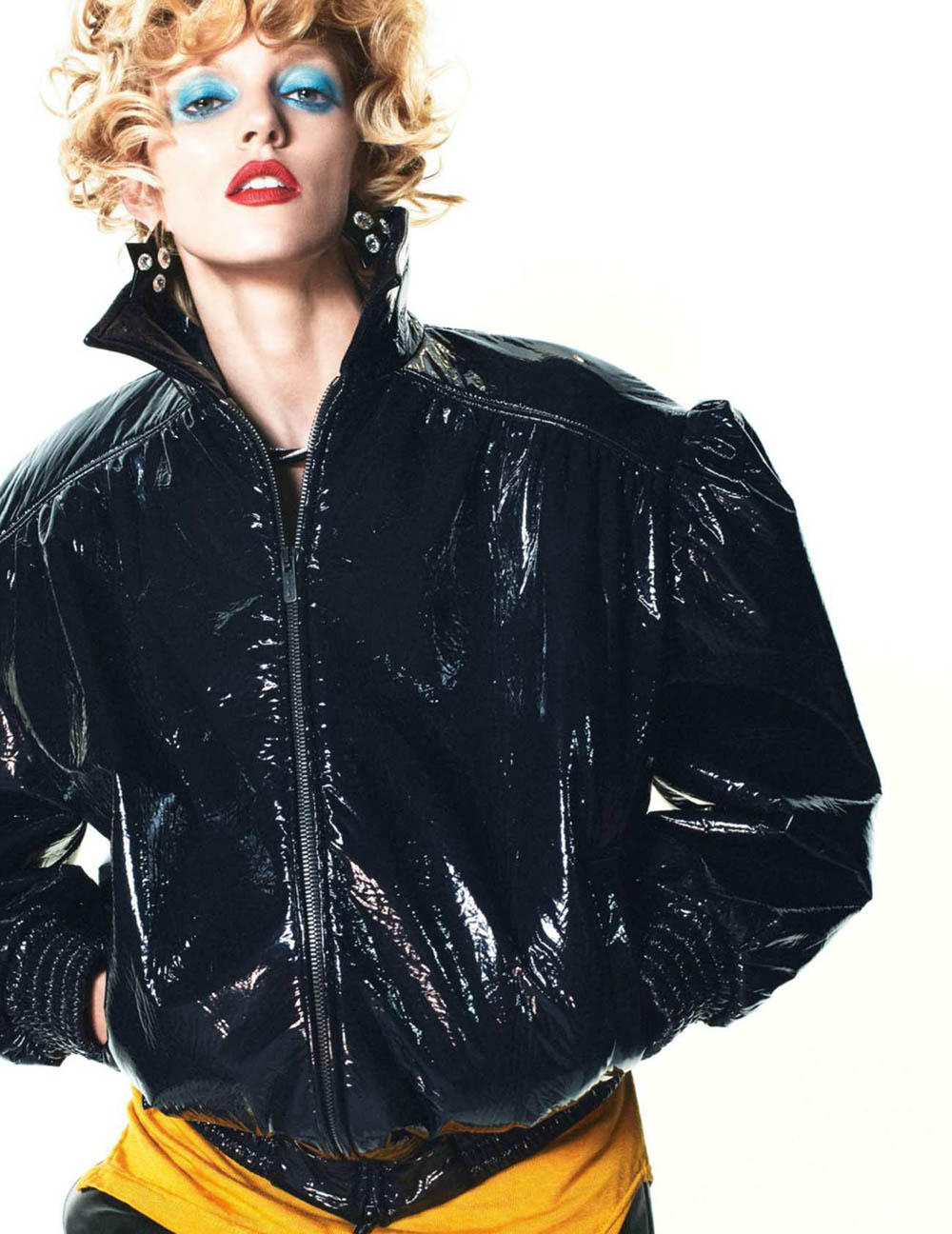 Anja Rubik by David Sims for Vogue Paris October 2018