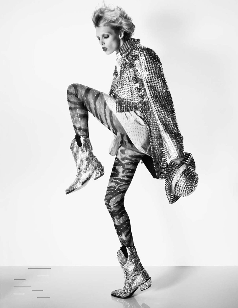 Anja Rubik by David Sims for Vogue Paris October 2018