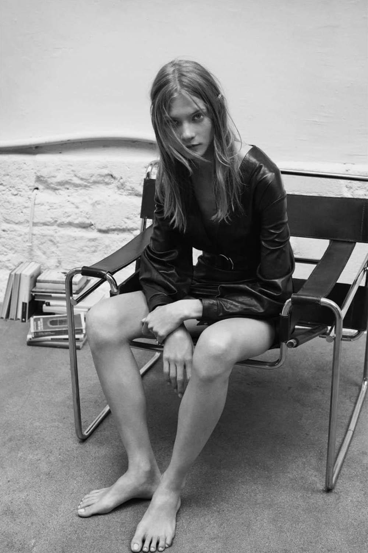 Anna Selezneva by Vanina Sorrenti for Vogue Paris October 2018