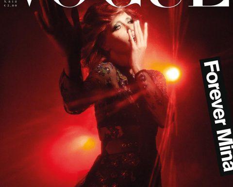 Carla Bruni covers Vogue Italia October 2018 by Giampaolo Sgura