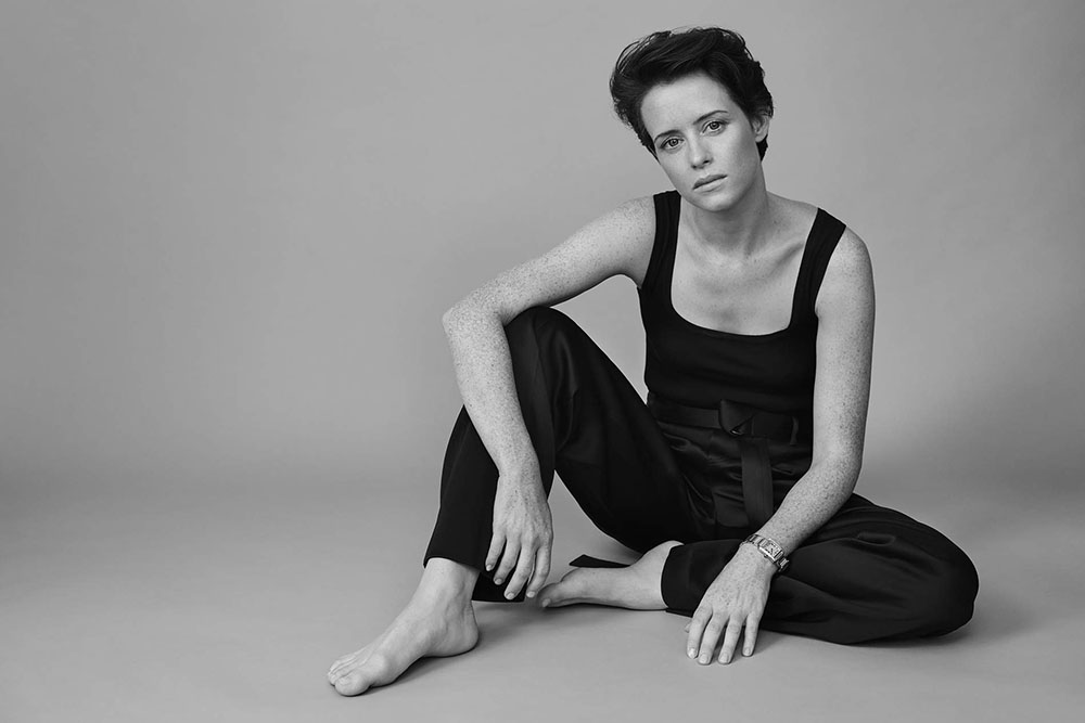 Claire Foy covers Porter Edit October 12th, 2018 by Liz Collins