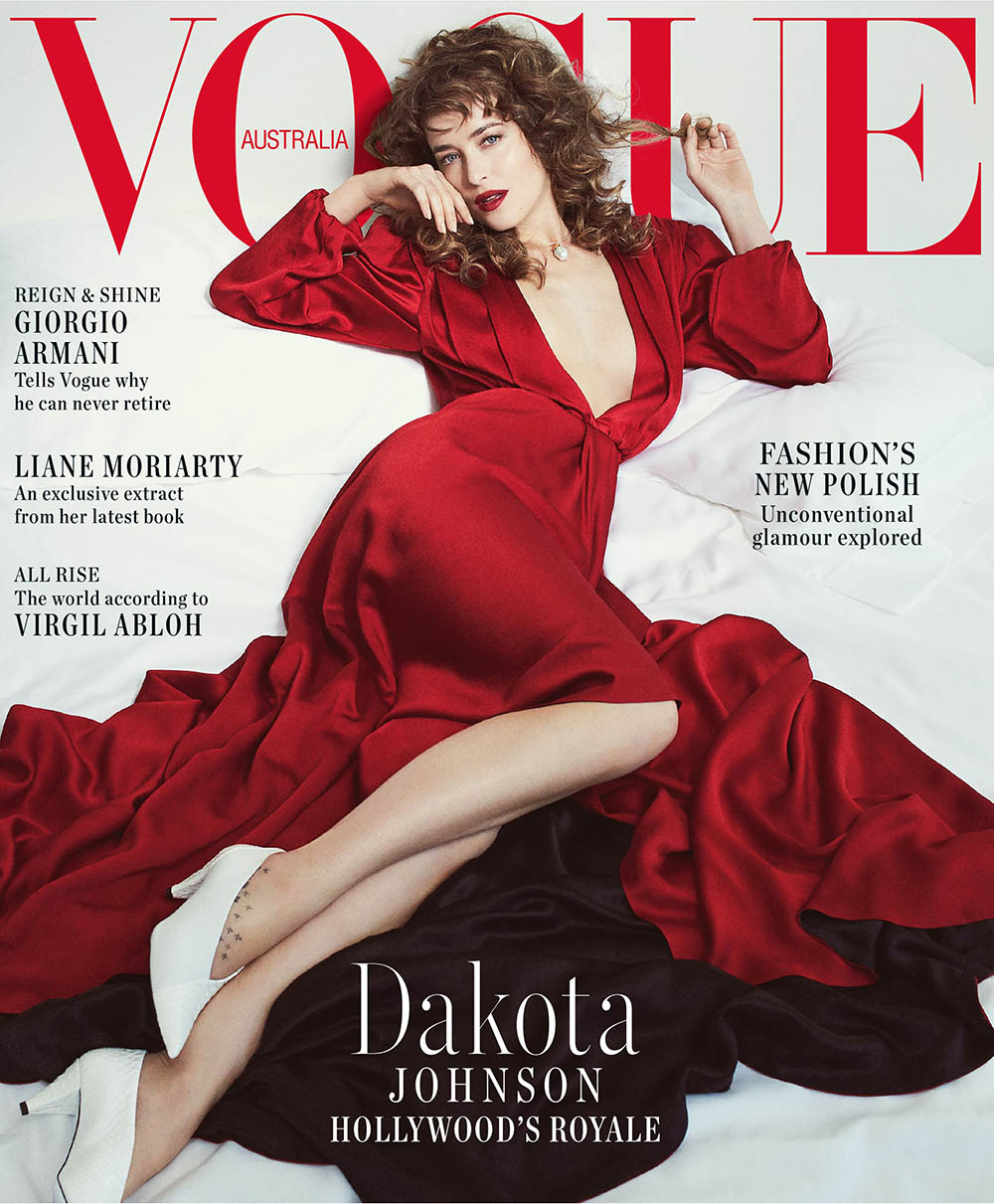 Dakota Johnson covers Vogue Australia October 2018 by Emma Summerton