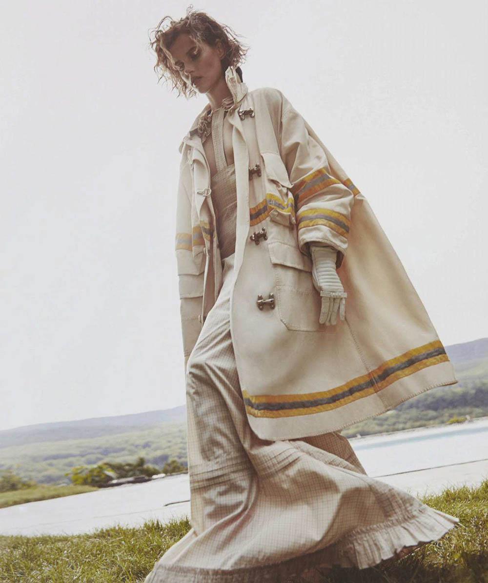 Giedre Dukauskaite by Will Davidson for Vogue Australia October 2018