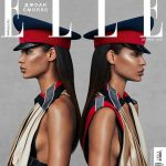 Joan Smalls covers Elle Russia October 2018 by Xavi Gordo
