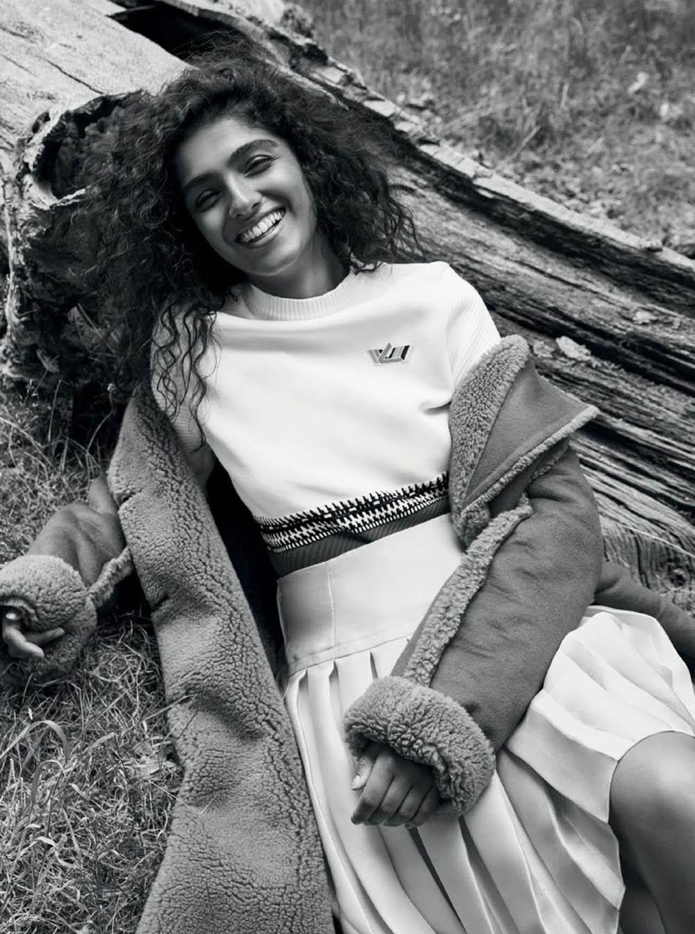 Kiran Kandola by Lucia O'Connor-McCarthy for Harper's Bazaar India October 2018