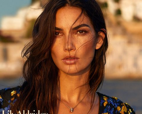 Lily Aldridge covers Harper's Bazaar Greece October 2018 by Yulia Gorbachenko