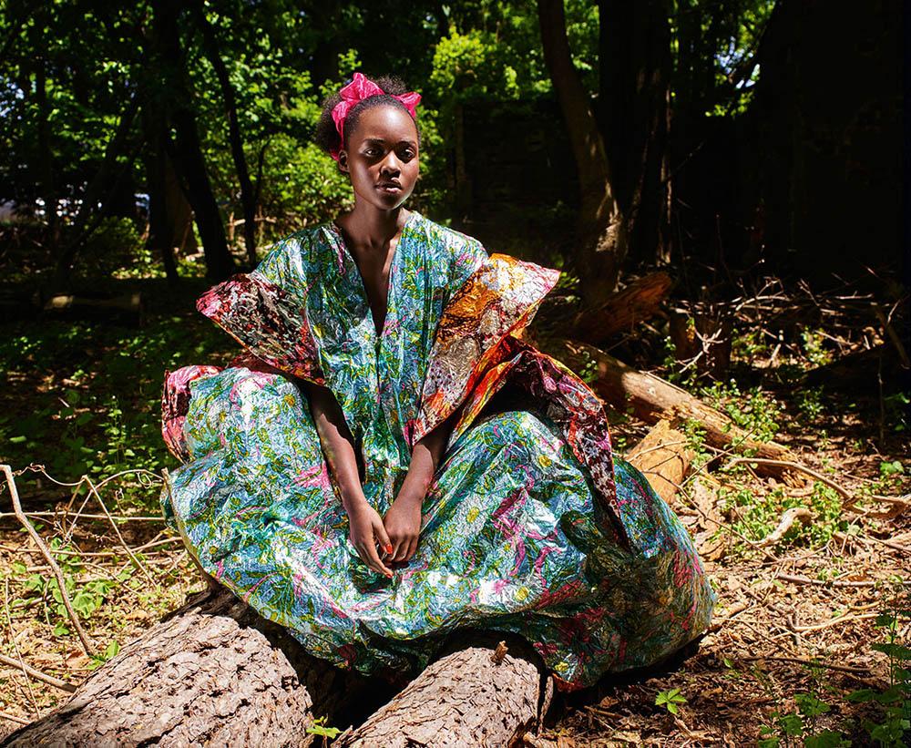 Lupita Nyong'o covers Porter Magazine Fall 2018 by Mario Sorrenti