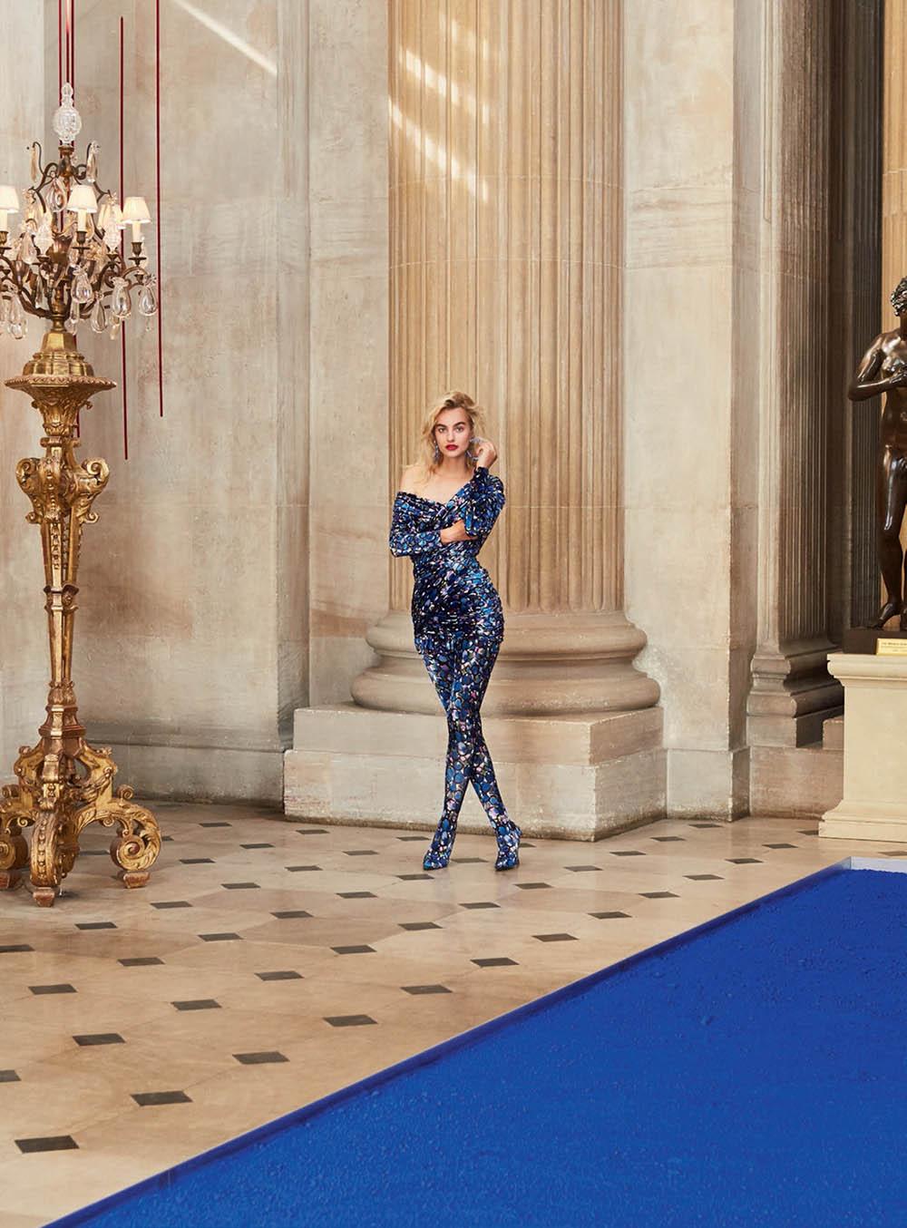Maartje Verhoef covers Harper's Bazaar UK November 2018 by Josh Shinner