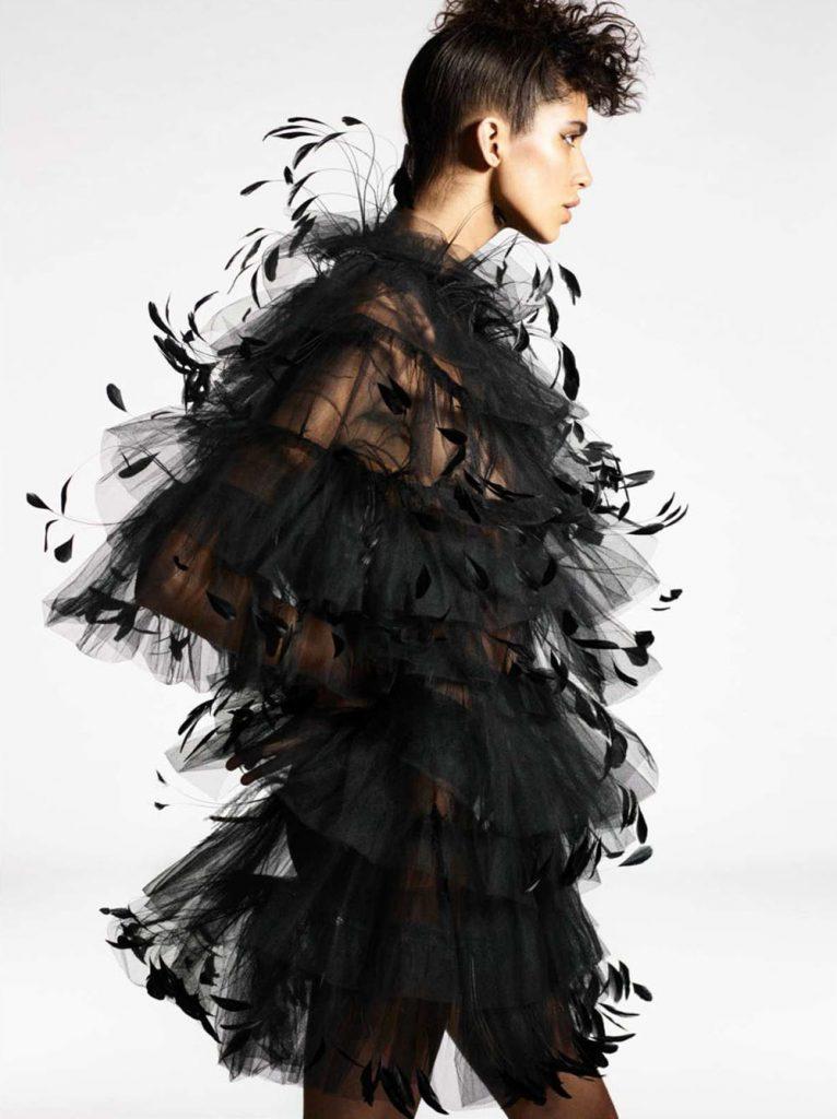 Mica Argañaraz and Mayowa Nicholas by Karim Sadli for Vogue Paris October 2018