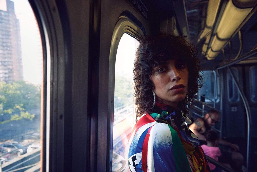 Mica Argañaraz by Daniel Jackson for WSJ. Magazine October 2018