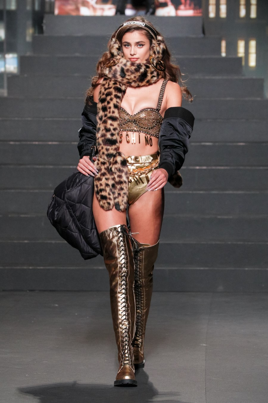Moschino [tv] H&M exclusive collection unveiled in New York