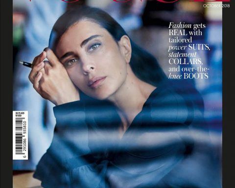 Nadine Labaki covers Vogue Arabia October 2018 by Drew Jarrett