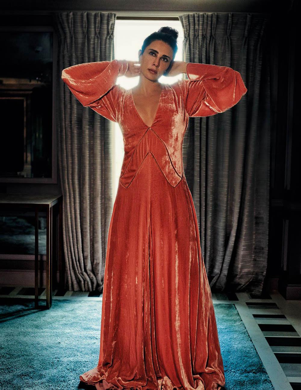 Nadine Labaki covers Vogue Arabia October 2018 by Drew Jarrett