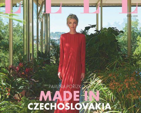 Paulina Porizkova covers Elle Czech October 2018 by Andreas Ortner