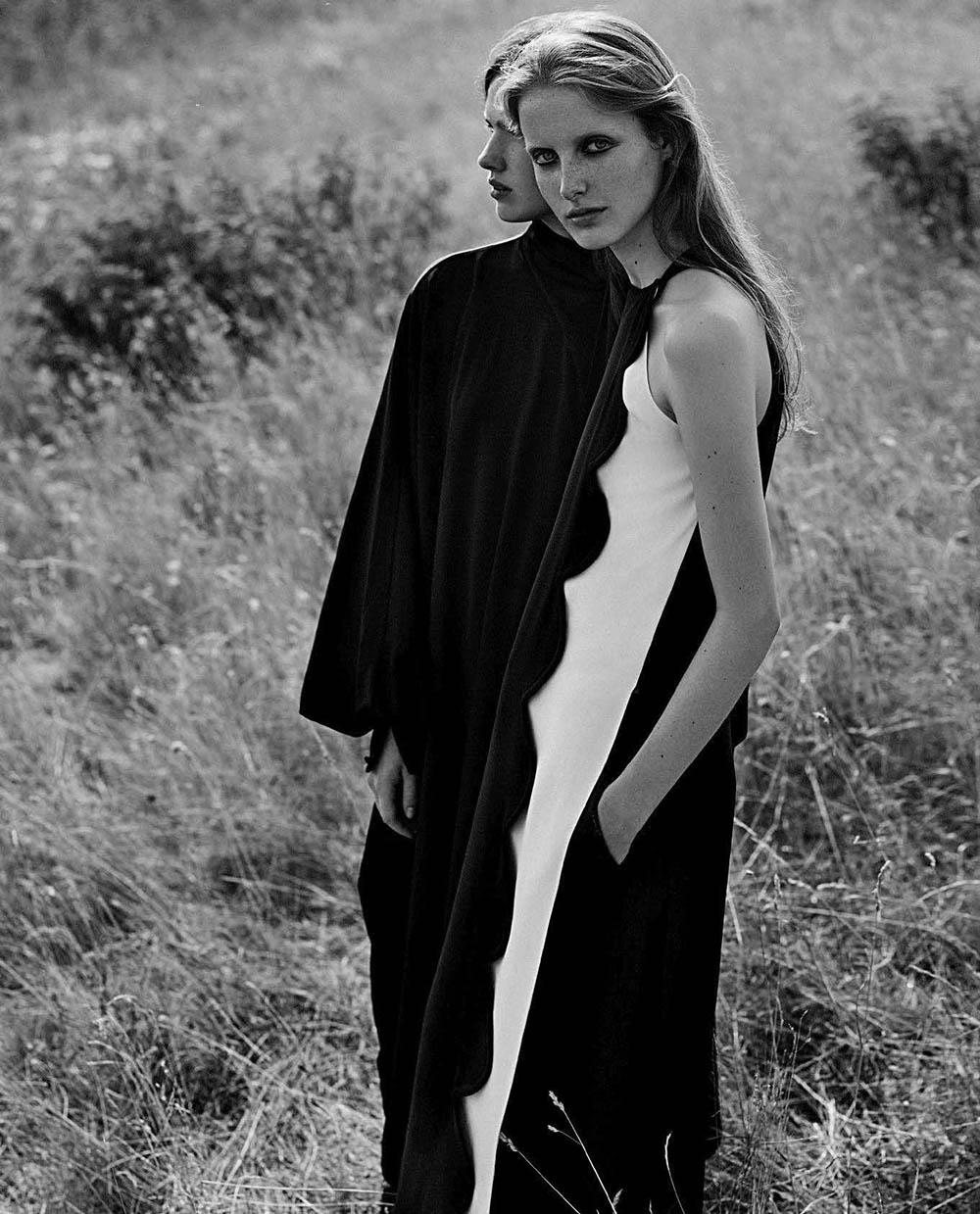 ''Sentimentale'' by Annemarieke van Drimmelen for Vogue Italia October 2018
