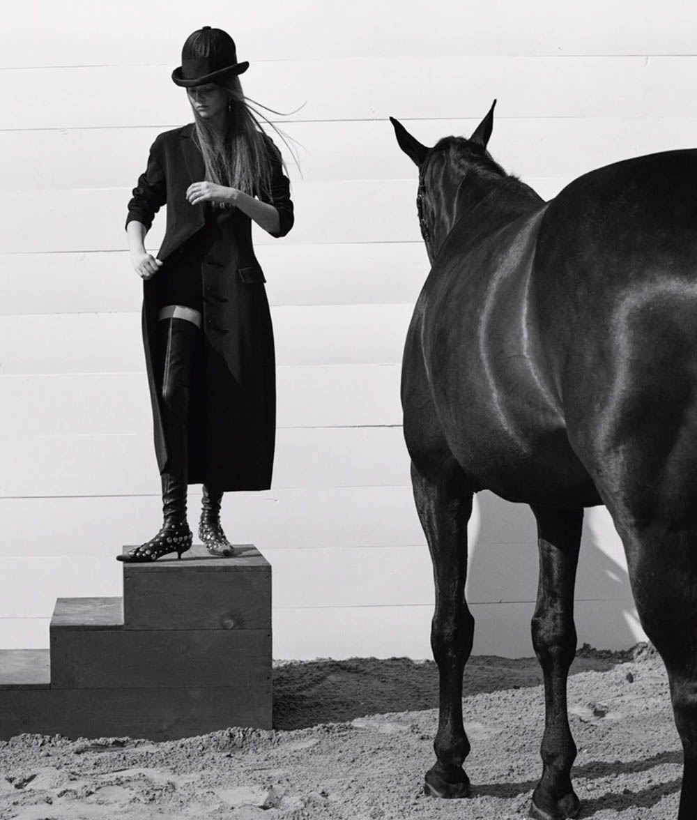 ''Stable Pieces'' by Josh Olins for WSJ. Magazine October 2018