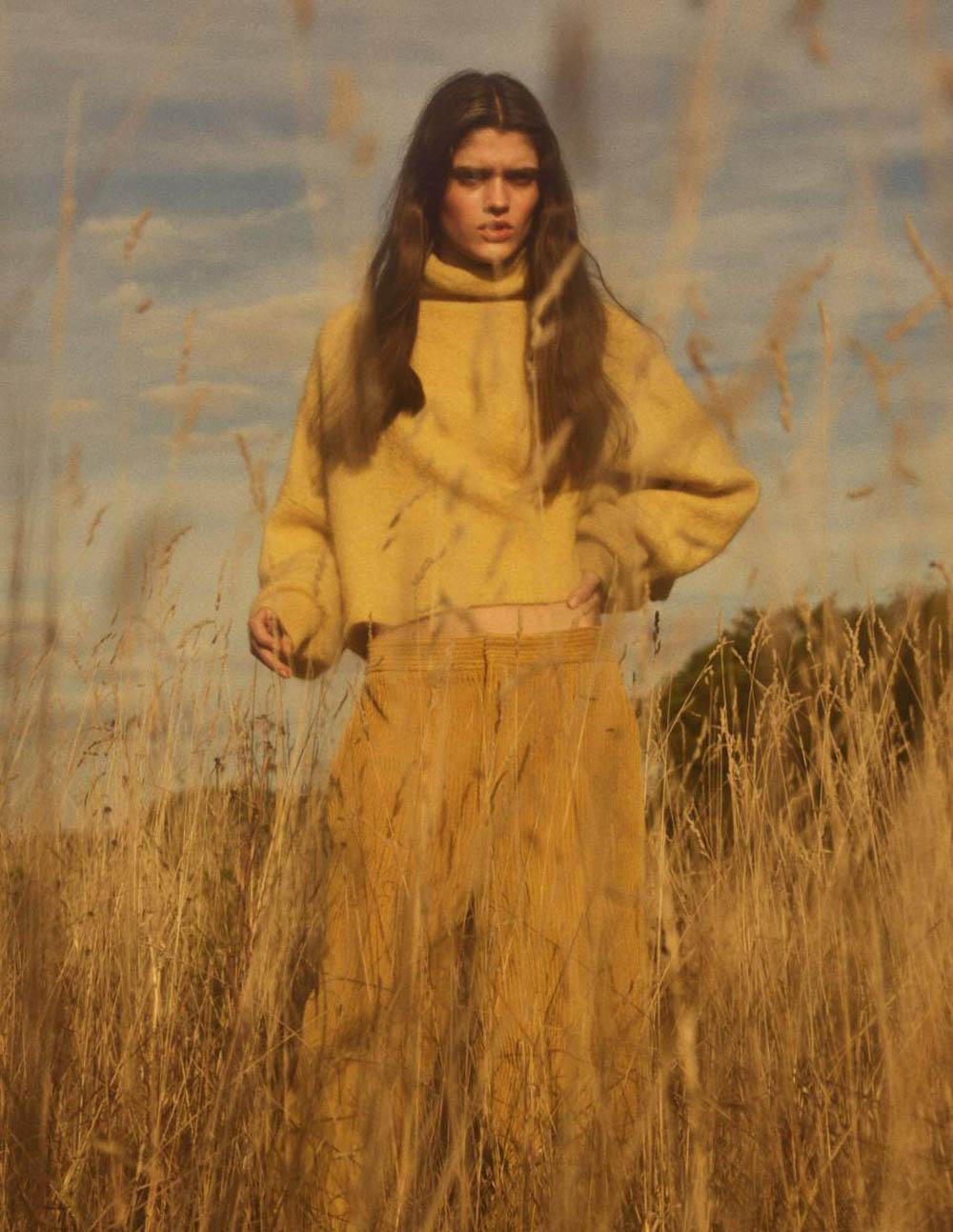 Alexandra Micu by Gregory Harris for Vogue Paris November 2018