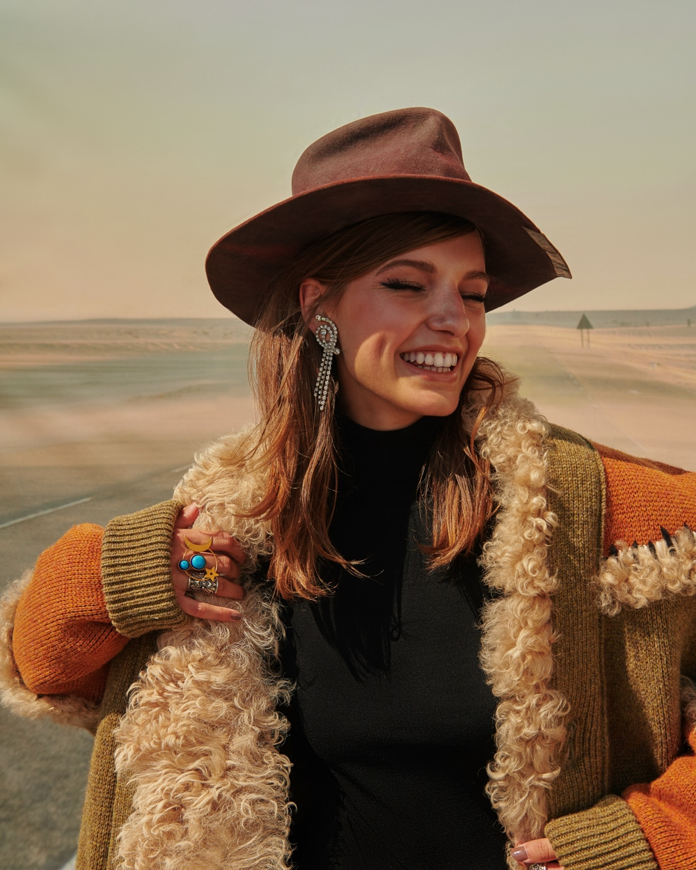 Anna Stephenson by Carlos + Alyse for Elle Canada November 2018