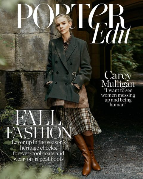 Carey Mulligan covers Porter Edit November 2nd, 2018 by Sebastian Kim