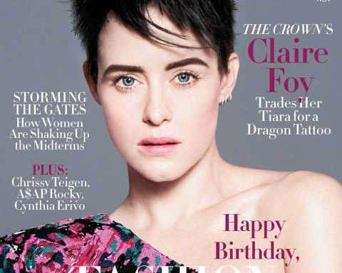 Claire Foy covers Vogue US November 2018 by David Sims