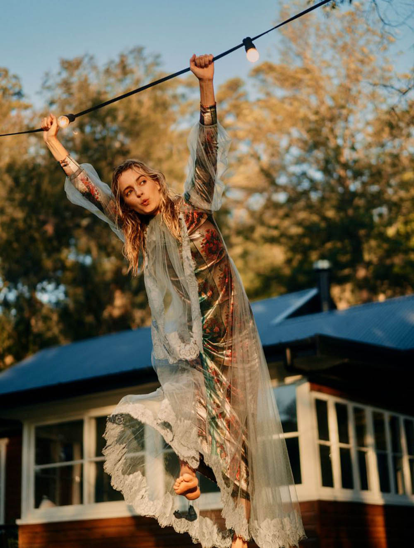 Esti van Balen by Georges Antoni for Elle Australia November 2018