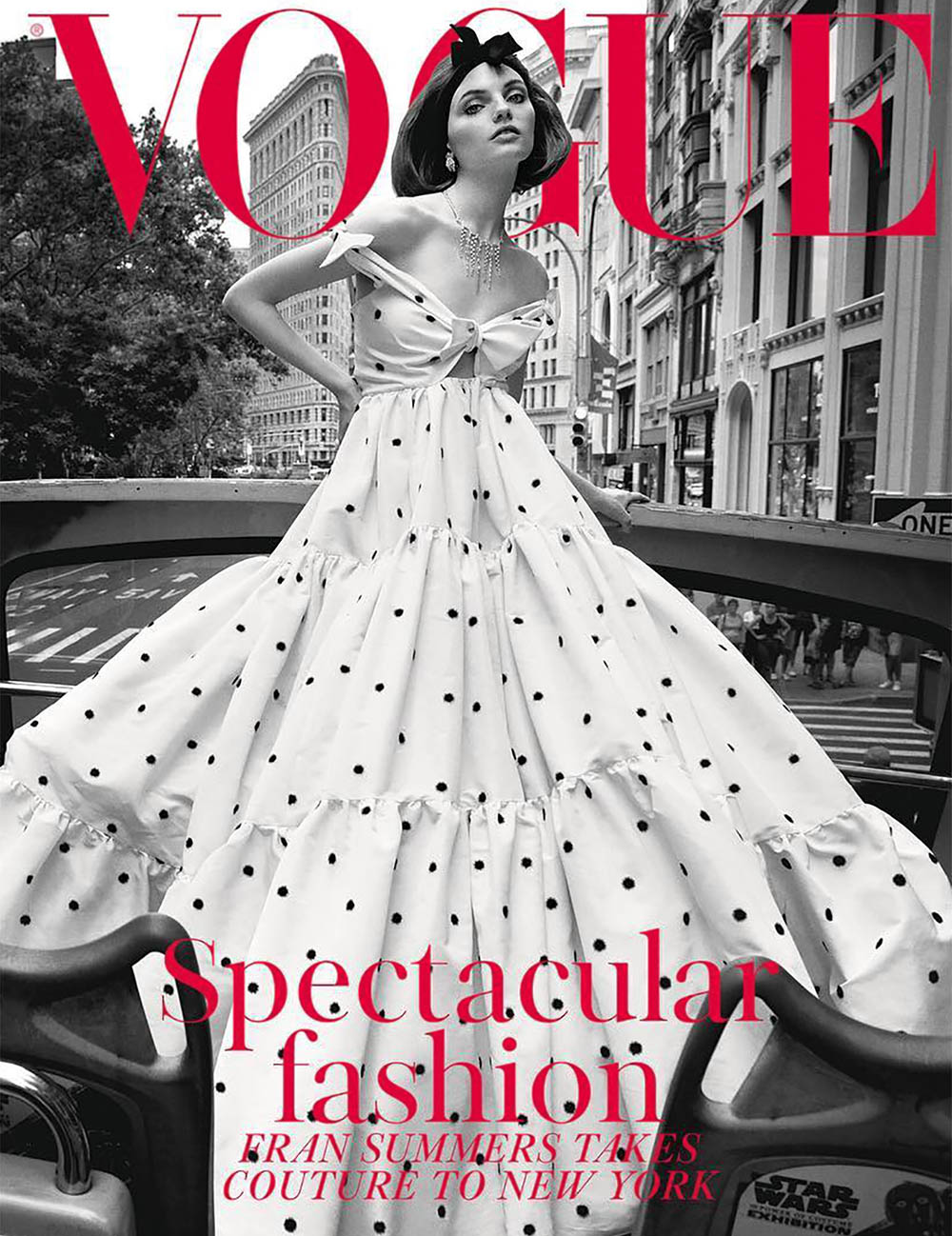 Fran Summers covers British Vogue November 2018 by Inez and Vinoodh