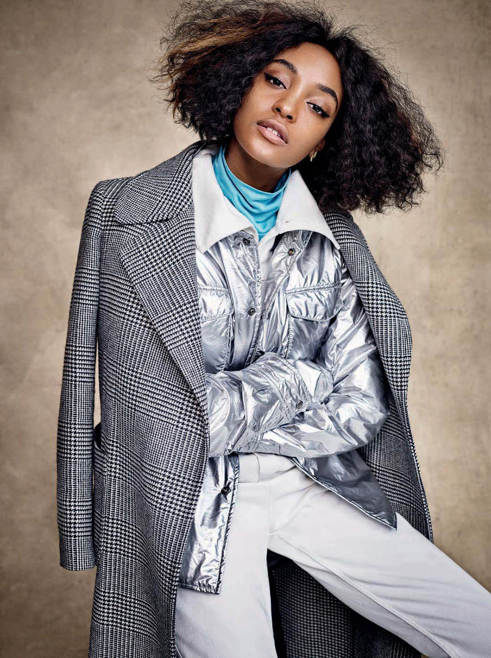 Jourdan Dunn covers Elle Italia November 2018 by Victor Demarchelier