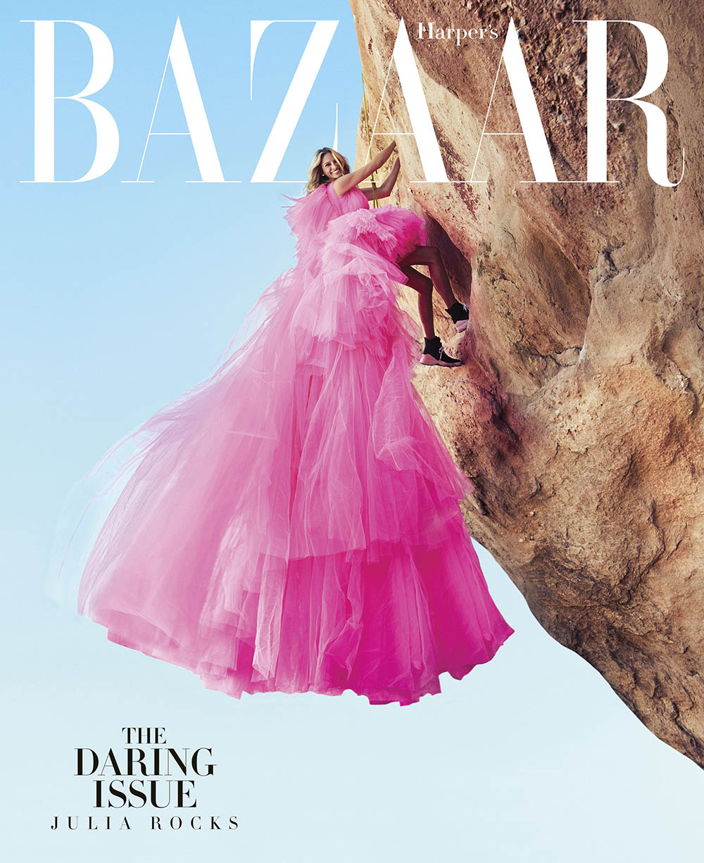 Julia Roberts covers Harper's Bazaar US November 2018 by Alexi Lubomirski