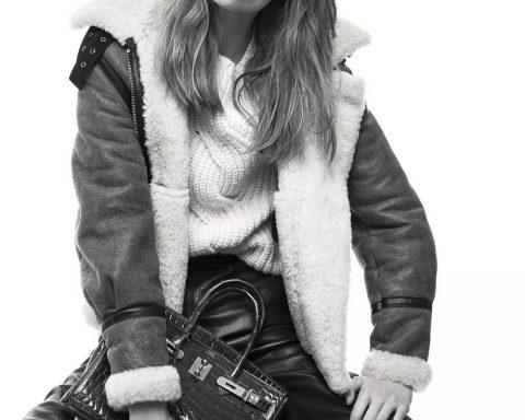 Katrin Thormann by Gregory Derkenne for Elle France November 2nd, 2018