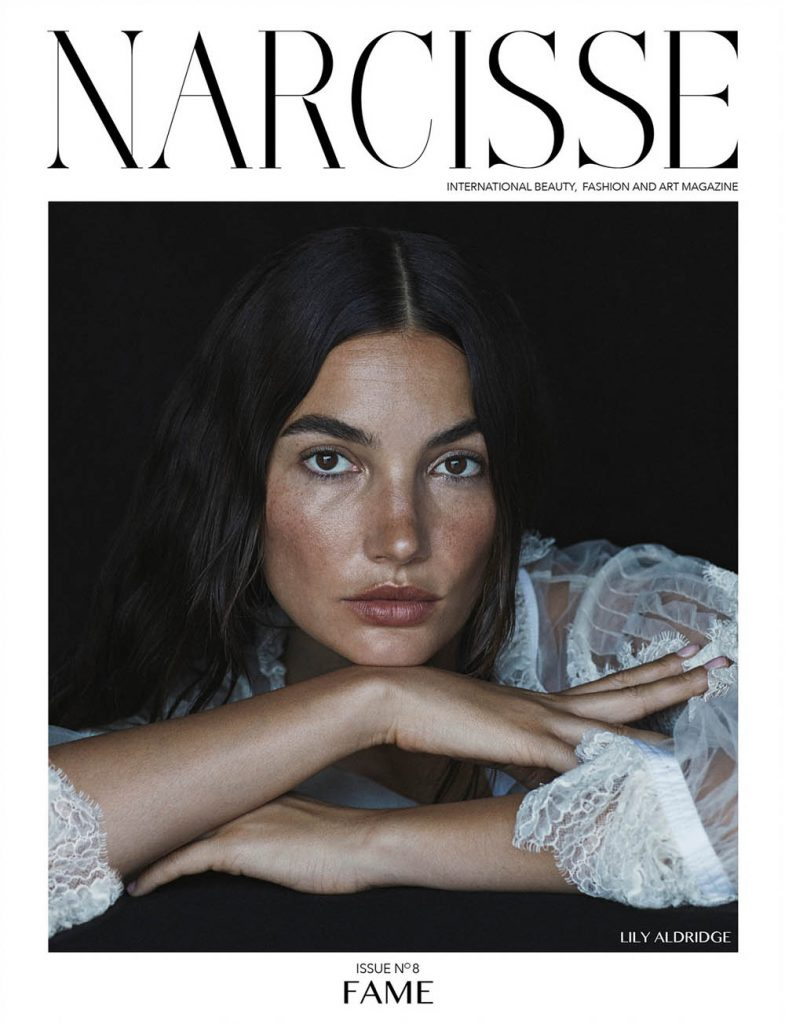Lily Aldridge covers Narcisse Magazine Fall 2018 by Matt Easton
