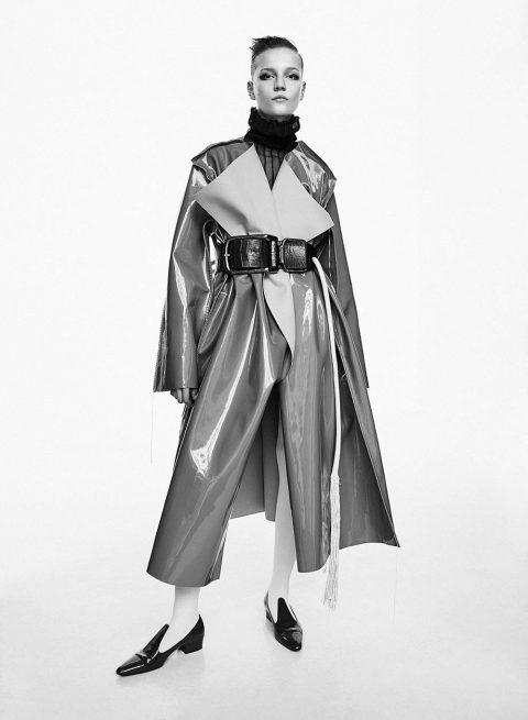 Lina Hoss by Zoltan Tombor for Harper's Bazaar Netherlands November 2018