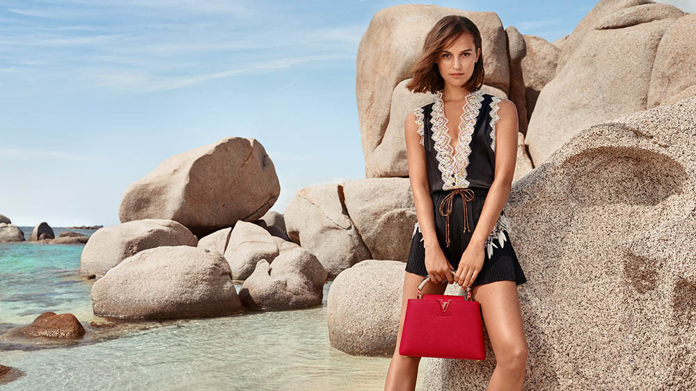 Louis Vuitton Cruise 2019 Campaign with Alicia Vikander