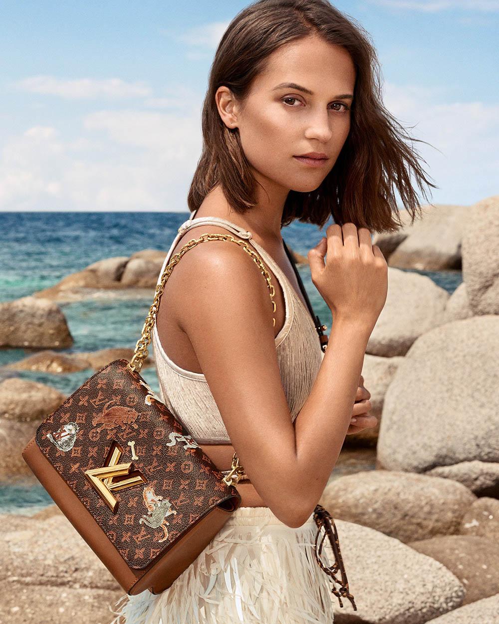 Louis Vuitton Cruise 2019 Campaign with Alicia Vikander