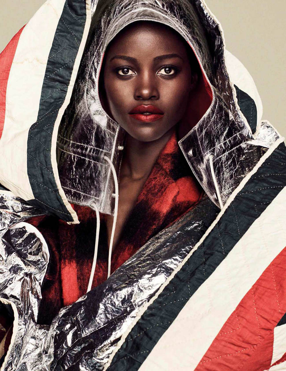 Lupita Nyong'o covers Vogue Spain November 2018 by Luigi & Iango
