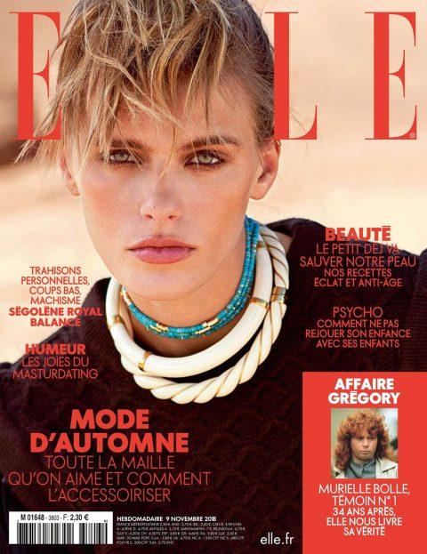 Madison Headrick covers Elle France November 9th, 2018 by Sam Hendel