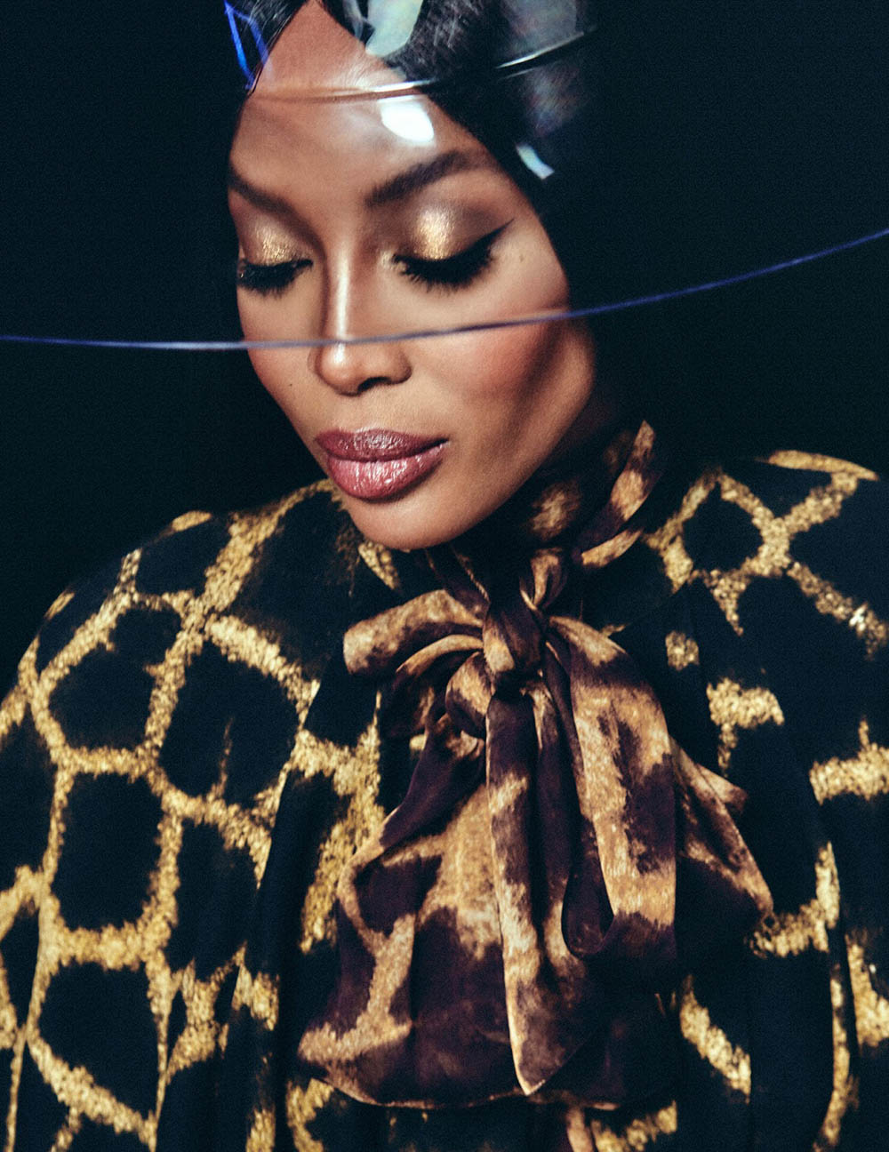 Naomi Campbell covers Vogue Arabia November 2018 by Chris Colls