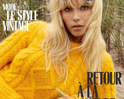 Natasha Poly covers Vogue Paris November 2018 by Inez and Vinoodh
